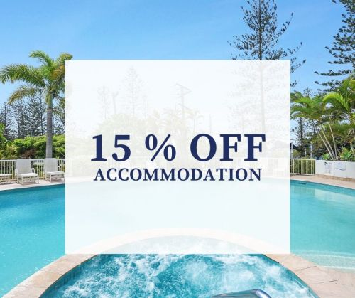 15 % Off ACCOMMODATION